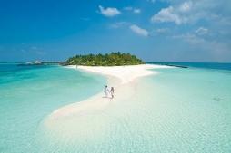 جزر المالديف شهر العسل فوق الماء