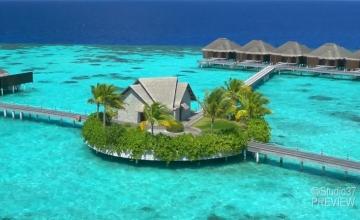 عرض المالديف مع مسبح خاص